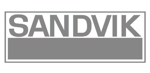 Sandvik logotype grey